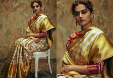 Taapsee Pannu's recent photo shoot made her look like a painting!